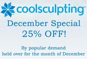 Coolsculpting December 2017 Special