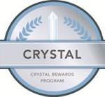 Crystal rewards program
