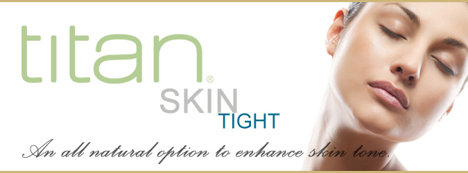 Titan skin tightening banner